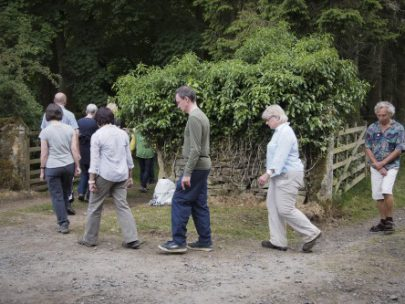 WALK ON Highgreen: Walking Mindfully; Coming to our Senses