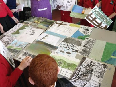 Bellingham children undertake 'Discover' Arts Award 2
